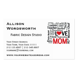 Amazing Multitasking Mom Mother's Day or Birthday Pack Of Standard Business Cards