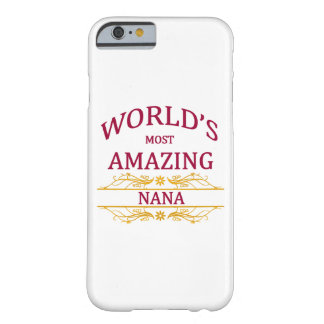 Amazing Nana Barely There iPhone 6 Case
