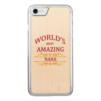 Amazing Nana Carved iPhone 7 Case