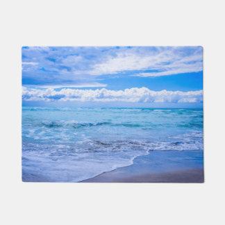 amazing ocean waves doormat