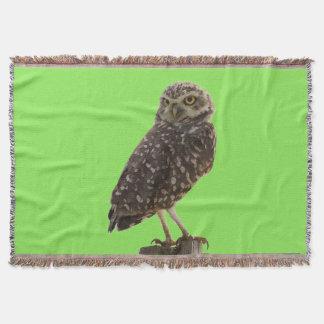 Amazing Owl Throw Blanket