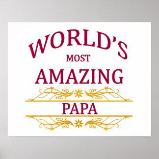 Amazing Papa Poster