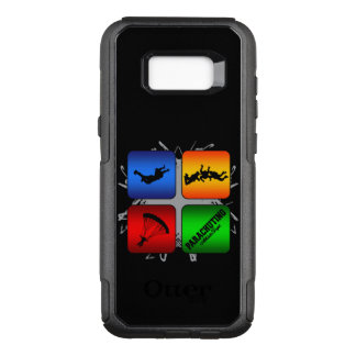 Amazing Parachuting Urban Style OtterBox Commuter Samsung Galaxy S8+ Case