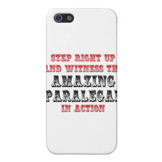 Amazing Paralegal In Action iPhone 5 Covers