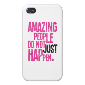 Amazing People Cover For iPhone 4