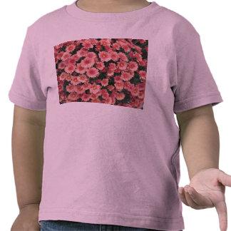 Amazing Pink Chrysanthemum Cluster T-shirt