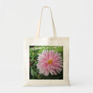 Amazing Pink Dahlia Flower Bags
