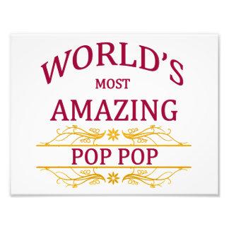 Amazing Pop Pop Photo Print