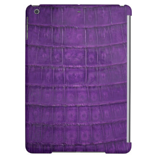 Amazing Purple Gator Print
