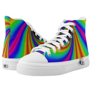Amazing Rainbow Shoes