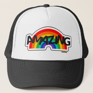 Amazing Rainbow Trucker Hat