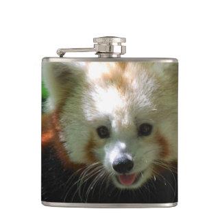 Amazing Red Panda Hip Flask