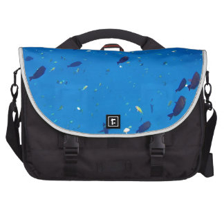 amazing red sea laptop commuter bag