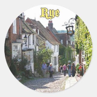 Amazing! Rye England Classic Round Sticker