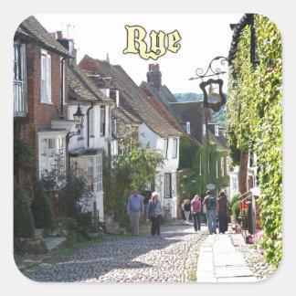 Amazing! Rye England Square Sticker