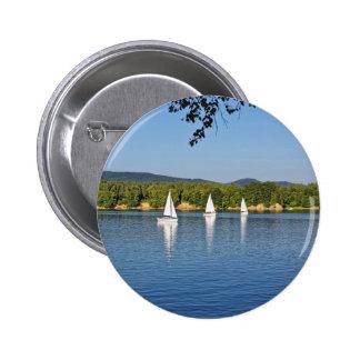 amazing sailing boats 6 cm round badge