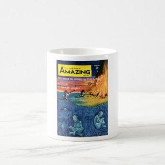 Amazing Science Fiction Stories 0_Pulp Art Basic White Mug
