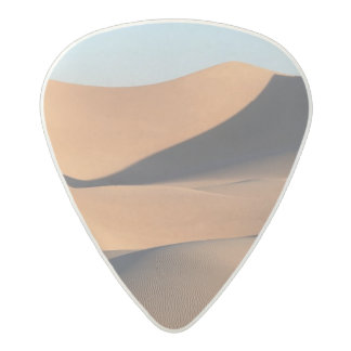 Amazing Shadows of Desert Acetal Guitar Pick