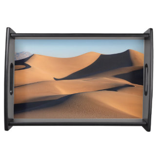 Amazing Shadows of Desert Serving Tray