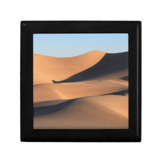 Amazing Shadows of Desert Small Square Gift Box