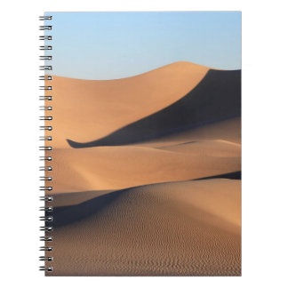 Amazing Shadows of Desert Spiral Notebook