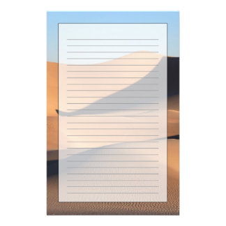 Amazing Shadows of Desert Stationery