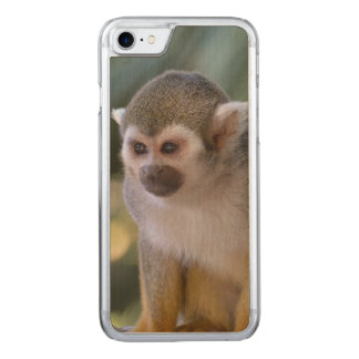 Amazing Squirrel Monkey Carved iPhone 8/7 Case