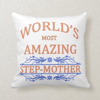 Amazing Step-Mother Throw Pillow