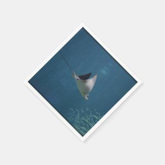Amazing Stingray Disposable Napkin