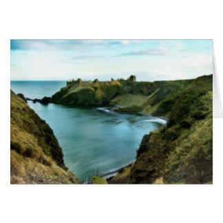 Amazing Stonehaven Scotland Greeting Card