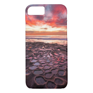 Amazing sunset at the tide pools iPhone 8/7 case
