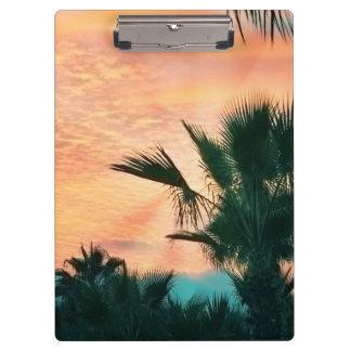 amazing sunset clipboard