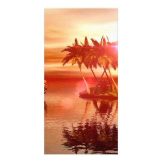 Amazing sunset photo cards