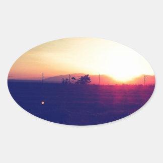 Amazing Sunshine Oval Sticker