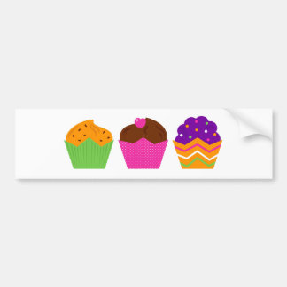 Amazing Sweet Donuts creative Collection Bumper Sticker