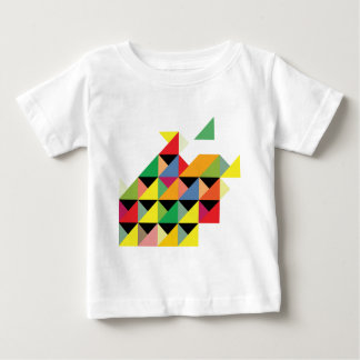 Amazing Triangle Print Hypnotic Baby T-Shirt