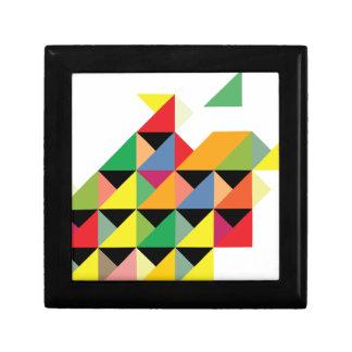 Amazing Triangle Print Hypnotic Gift Box