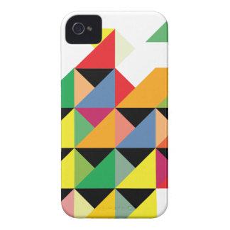 Amazing Triangle Print Hypnotic iPhone 4 Cases