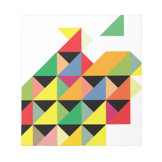 Amazing Triangle Print Hypnotic Notepads