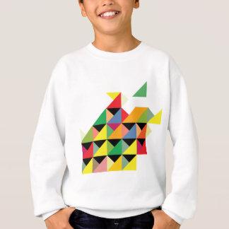 Amazing Triangle Print Hypnotic Sweatshirt