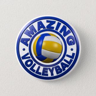 Amazing Volleyball 6 Cm Round Badge