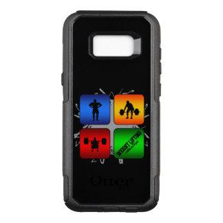 Amazing Weight Lifting Urban Style OtterBox Commuter Samsung Galaxy S8+ Case