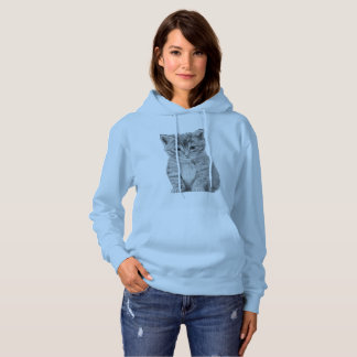 Amazing Women's Basic Hooded Sweatshirt