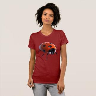 Amazing Women's Ladybug Fine Jersey T-Shirt