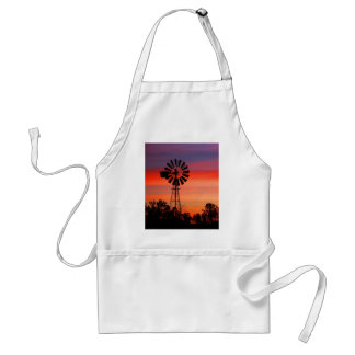 Amazingly Colorful Dawn Sunrise Windmill Aprons