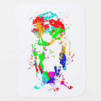 Amazingly Colourful Springer Spaniel Baby Towel! Baby Blanket