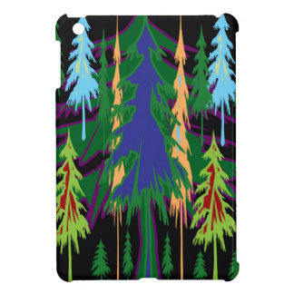 Amazon Dense Forest Trees Abstract Art on Gifts iPad Mini Cases