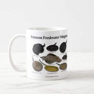 Amazon Freshwater Stingrays Basic White Mug