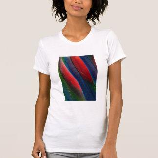 Amazon parrot feather design T-Shirt