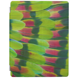 Amazon Parrot Green Feather Design iPad Cover